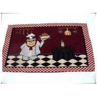 33x45cm fancy designs jacquard fabric tapestry custom placemat