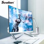27 Inch 4 Cores Wireless Desktop Computer Curved Monitor