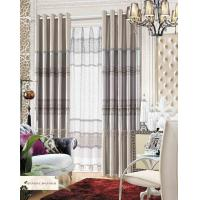 Polyester Jacquard Window Curtain Luxury Ready Made Curtains for Hotel , Cafe , Office , Club