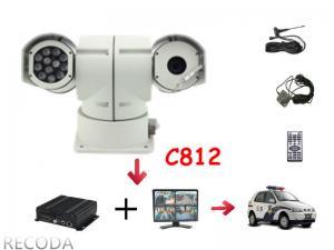 China Caméra vidéo à grande vitesse de casserole/inclinaison PTZ de RECODA C812 avec l'éclairage infrarouge on sale