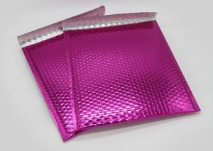 China Shipping 200 Microns Aluminized Metallic Bubble Mailer on sale