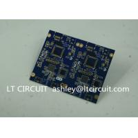 Blue Soldering Impedance Controlled PCB Multilayer FR4 for Controller