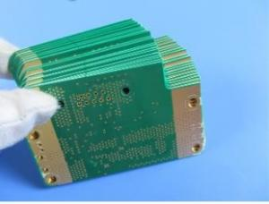 China 10layers RT6002+RT6006+FR-4 TG170 of 2nd order HDITeflon PCB Boards Built On 20mil RO4350B with Immersion Gold on sale