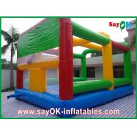 Multi-colour Inflatable Bounce Castle House Large For Playground