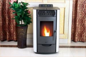 Quality Freestanding Pellet Stove Metal Material , Pellet Wood Burning Stove 69x52x92cm for sale