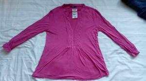 China Australia Kmart brand apparel stock lots- women's Cheap  casual Tops plus size T-shirt on sale