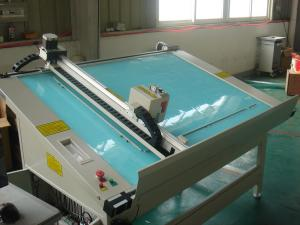 China 45 Degree Photo Frame Cutter Machine Creasing Servo Motor Imported Linear Guides on sale