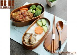 China Wooden Kitchenware food box food delivery boxes take away food box on sale