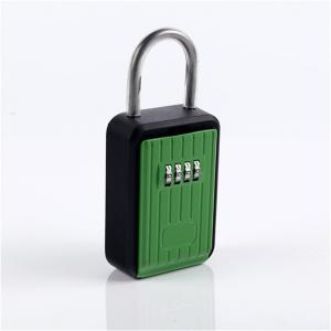 China Small Outdoor Car Key Lock Box / Surf Lock Car Key Safe Box Keyless Access on sale