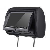 "7"" HD LED OSD PA, NTSC SD, USB, IR, FM, Game Pad, Zipper Car Headrest DVD Players With Sony Lens"