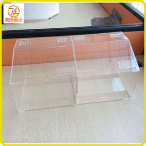 China China factory customized acrylic candy box acrylic food box in the supermarket on sale