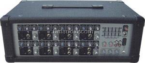 China Studio / Stage Audio Power Mixer , Concert Mixers With USB Port on sale
