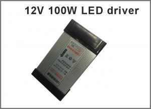 China Switching led power supply 12V 100W rainproof drivers for outdoor led signboard on sale