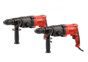 China Portable Power Tool Rotary Impact Hammer Drill For Concrete  Floor Brick Wall Drilling Holes on sale