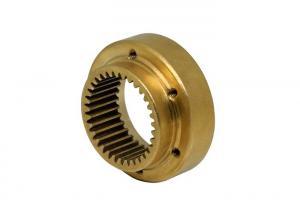 China Brass Alloy Internal And External Splines Internal Involute Spline  M0.5 33T on sale