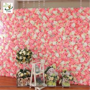 China UVG stunning artificial wedding decoration flower stand for bridal exhibition and party backdrops CHR1132 on sale