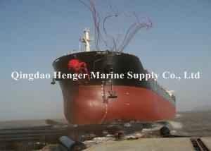 China CB/T-3795 Standard Heavy Duty Boat Salvage Airbags For Tugboat Oil Tanker on sale