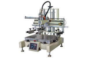 China 800PCS/H 100mm Down Stroke Semi Automatic Screen Printing Machine on sale
