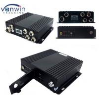 4 Channel Vehicle WI-FI Video / Audio SD Card DVR Camera System with Bus Router