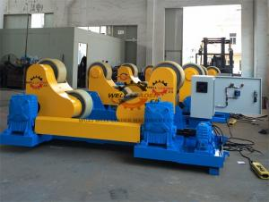 China Heavy Duty Self Aligned Welding Rotator , 70 Ton Turning Rolls Welding For Pipe Industry on sale