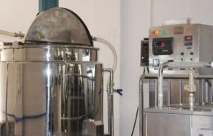 China 1000L Stainless Steel steam heating Blending Tank Shampoo Making  Line for shower cream on sale