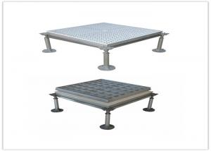 China Anti - Magnetic Anti Static Raised Floor 600mm*600mm*50mm Aluminum Shield on sale