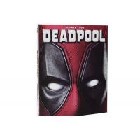 Deadpool Movie Blu-Ray DVD Action Adventure Comedy Series Blue Ray Movies DVD