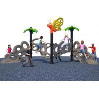 Plasitc Climbers Freestanding Playground Equipment Kids Free Standing Slide CE Certification