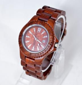Quality Custom bamboo Wooden Wrist Watch for women / quartz wooden watch for sale