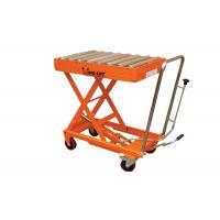 High Efficiency  Mobile Scissor Lift Table Equipment  , 150Kg - 1000Kg Capacity