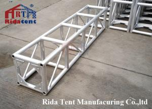 China Dome Aluminum Truss Roof Systems , Silver Big Aluminum Box Truss on sale