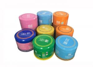 China Rust - Proof Spice Packing Metal Tin Can With Plastic Lid 100g 200g Capacity on sale