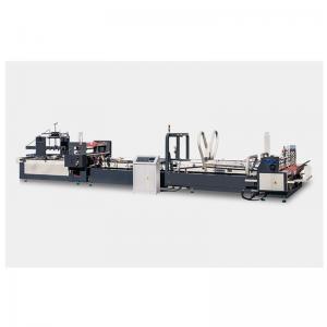 China Automatic High Speed Case Maker Folder Gluer Machine For Carton Box on sale