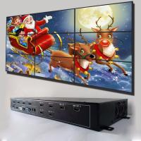 47 Inch Super Slim 3 X 3 Video Wall , Lightweight Multi Screen Monitor Low Power Consumption