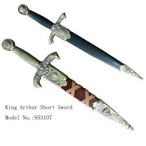 China decorative short movie sword king arthur short sword 953107 on sale