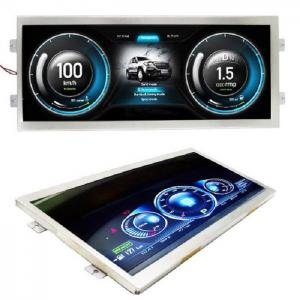 China Stretched Lcd Display Screen 12 Inch , Custom Lcd Display Ultra Wide Screen For Bar on sale