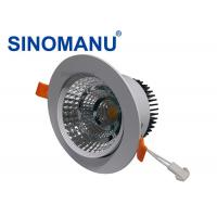 SMD 2835 LED Recessed Downlights For Shopping Mall Positive Enclosed Fixture