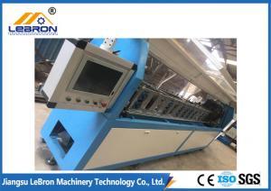 China Blue Color Light Gauge Steel Framing Machines SERVO Driven High Speed System on sale