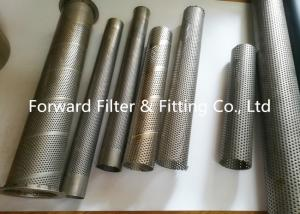China Punching Automotive Perforated Exhaust Tubing , Water Treatment Perforated Filter Tube on sale