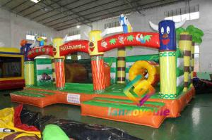 China Toddler Playground 7X4.5X2.8m Inflatable Combo Bouncer House on sale