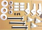 White Medical Machining Parts Instrument Rack Accessories Multi Color