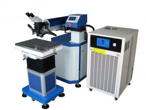 China 200W - 600W Laser Welding Machine For Repairing Cracks , Chipping , Mold Edge on sale