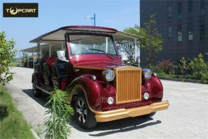 China Luxury Antique 12 Seater Classic Electric Cars Lead Acid Cell Battery Operated on sale