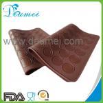 FDA aprovou a esteira resistente ao calor do cozimento de Macarons do silicone 48-Capacity do produto comestível