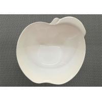 Melamine Dinnerware Bowl Diameter 15cm Weight 154g White Color Apple Shape