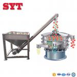 Stainless steel inclined screw feeder for grain or fodder powder
