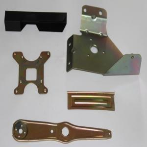 China Sheet Metal Machining Parts , Painted Metal Prototype Fabrication Services on sale