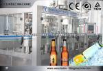 Auto Glass Milk Bottle Filling Machine Vertical Filling Machine For Beverage / Mineral Water