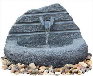 China Natural Stone Carved Irregular Figure Garden Water Fountains Outdoor on sale