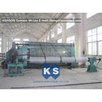Automatic Hexagonal Wire Netting Weaving Machine / Gabion Mesh Production Line